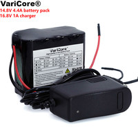VariCore 14.8V 4400mAh 18650 li iom battery pack night fishing lamp heater miner's lamp amplifier battery with BMS+16.8V Charger