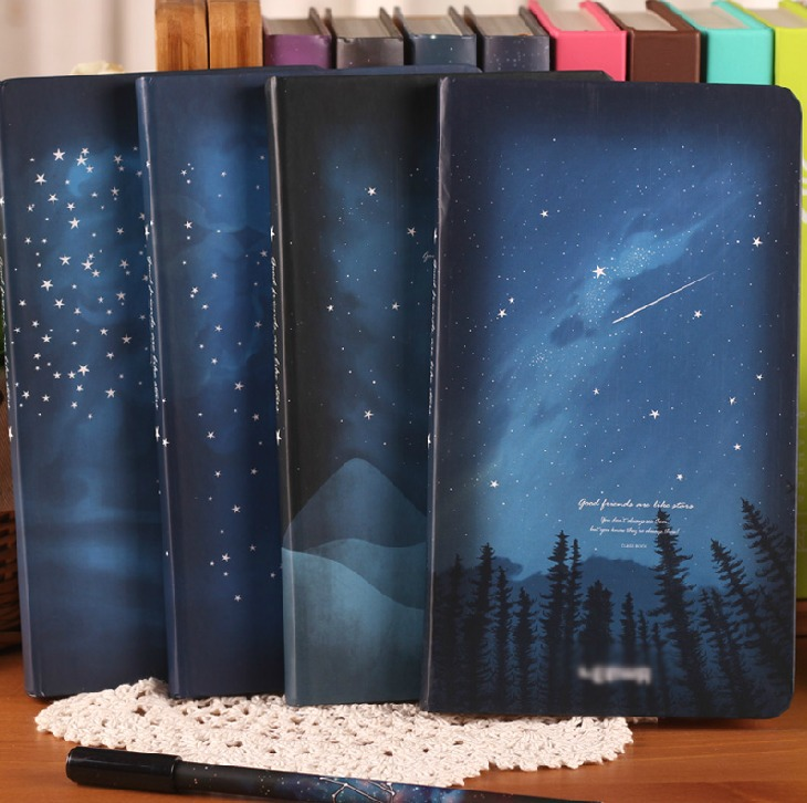 Good Night Journal Diary Lined Hard Cover Pocket School Study Notebook Korean Agenda Notepad Memo suptronics x series x200 expansion board special board for raspberry pi model b