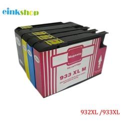 Einkshop marki 932 933 932XL 933XL kompatybilny wkład z atramentem nadaje się do HP Officejet Pro 6100 6600 6700 7110 7610 7612 drukarki w Tusze do drukarek od Komputer i biuro na