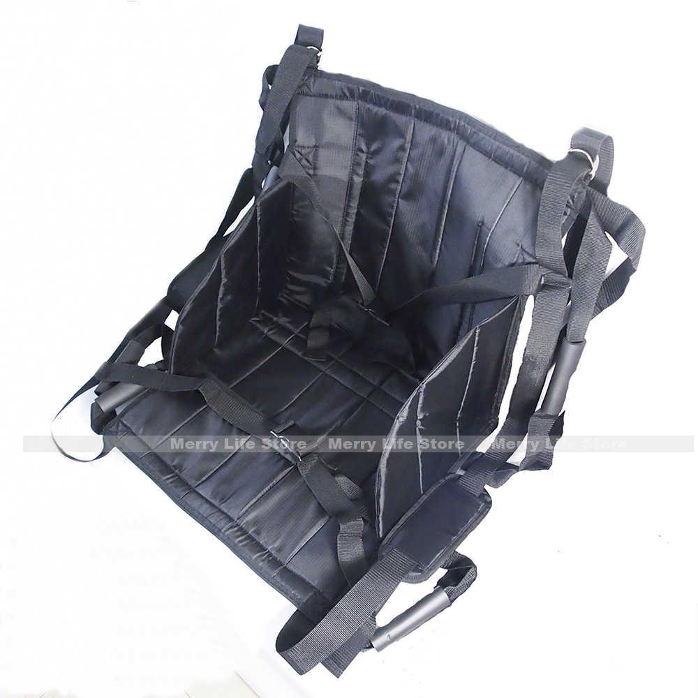 患者リフト転送ベルトボード緊急避難椅子車椅子フルボディ医療リフティングをスライドため寝たきり