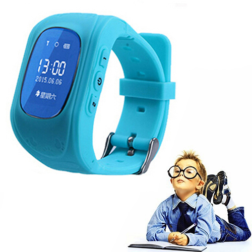 Fëmijët Kid Cute Tracker Watchband Remote Security SOS Telefononi Smart dore Watch