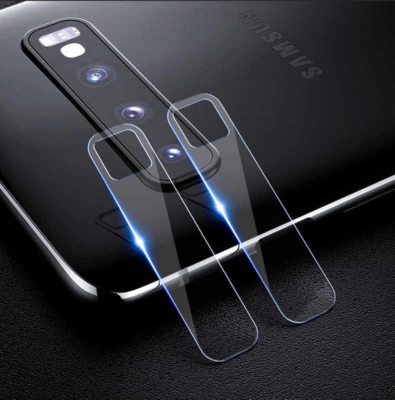 Filme de volta Lente da Câmera para Samsung Galaxy S10E A10 A30 A50 A70 M10 M20 M30 A8S A6 A8 Plus 2018 s10 5G Câmera Caixa De Vidro Temperado