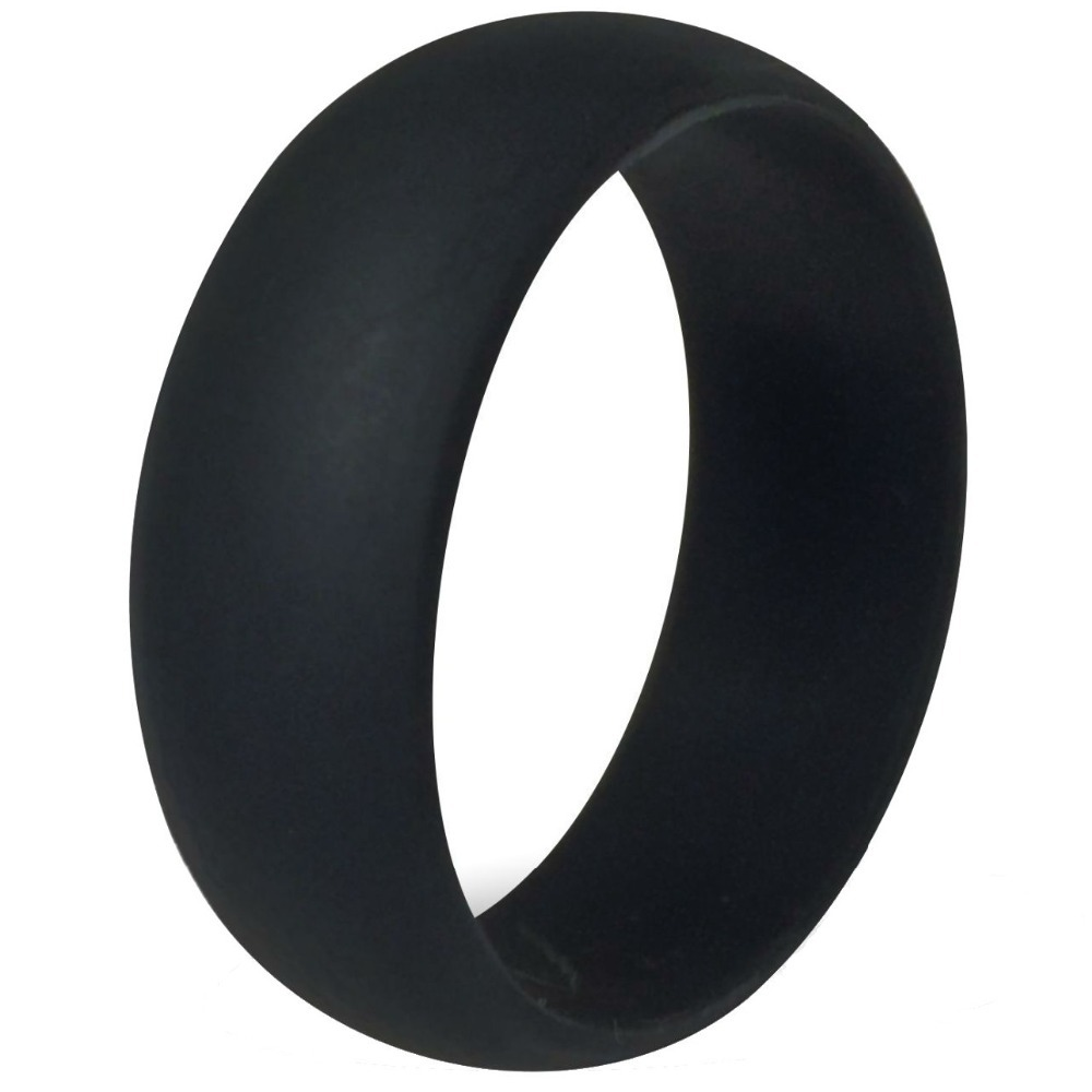 Size 5 15 8MM Black Flexible Hypoallergenic Crossfit