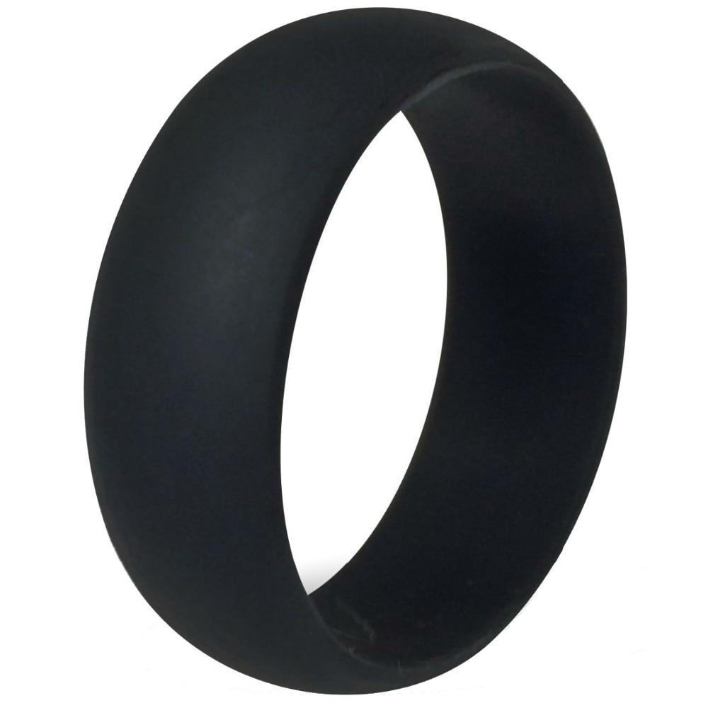 Size 5 15 8MM Black Flexible Hypoallergenic Crossfit