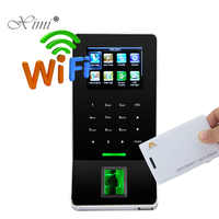 New Arrived ZK Biometric Fingerprint Time Attendance With 125KHZ RFID Card  Reader ZK F22 Door Access Control System With WIFI