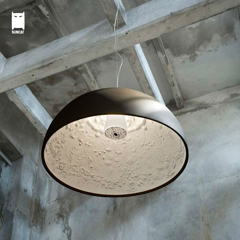 Resin Round Sky Garden Pendant Light Fixture Nordic Modern Vintage Hanging Lamp Avize Lustre Skygarden Design Foyer Living Room aluminum chain pendant light fixture vintage empire suspension lamp french chain hanging lustre for living room hotel restauran