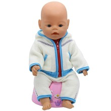43cm Zapf Baby Born Doll Clothes All kinds of style clothes children Christmas gift free shipping the doll m2831