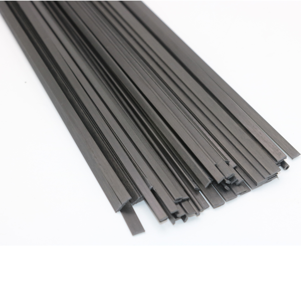 16pcs lot Carbon Fiber Material 0 5mm 3mm 0 6 5 1 3 1 4 1 5 1 6 Carbon fiber sheet for RC Quadcopter Multicopter 0 5 Meter in Parts Accessories from Toys Hobbies