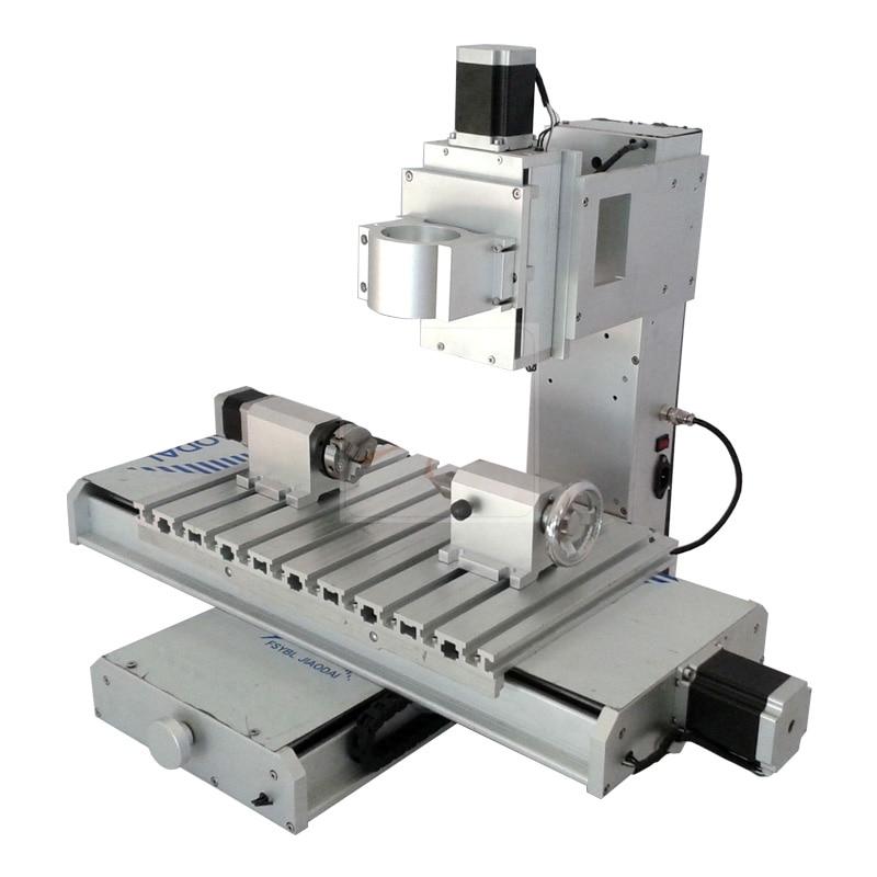 4axis Cnc Machine Frame 3040 Pillar Type Column Ball Screw CNC Engraving Machine Work Stroke 300x400x150mm