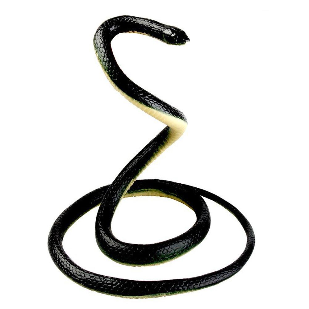 tricky scary simulation rubber snake toy big green snake halloween haunted house props fake snake model spit snake
