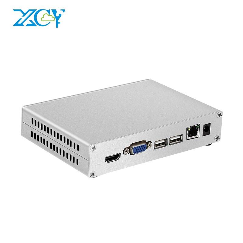 XCY mini pc Intel Atom x5-Z8300 Windows 10 2 GB RAM 32 GB ROM 1xUSB3. 0 3xUSB2. 0 HDMI VGA TV BOX HTPC