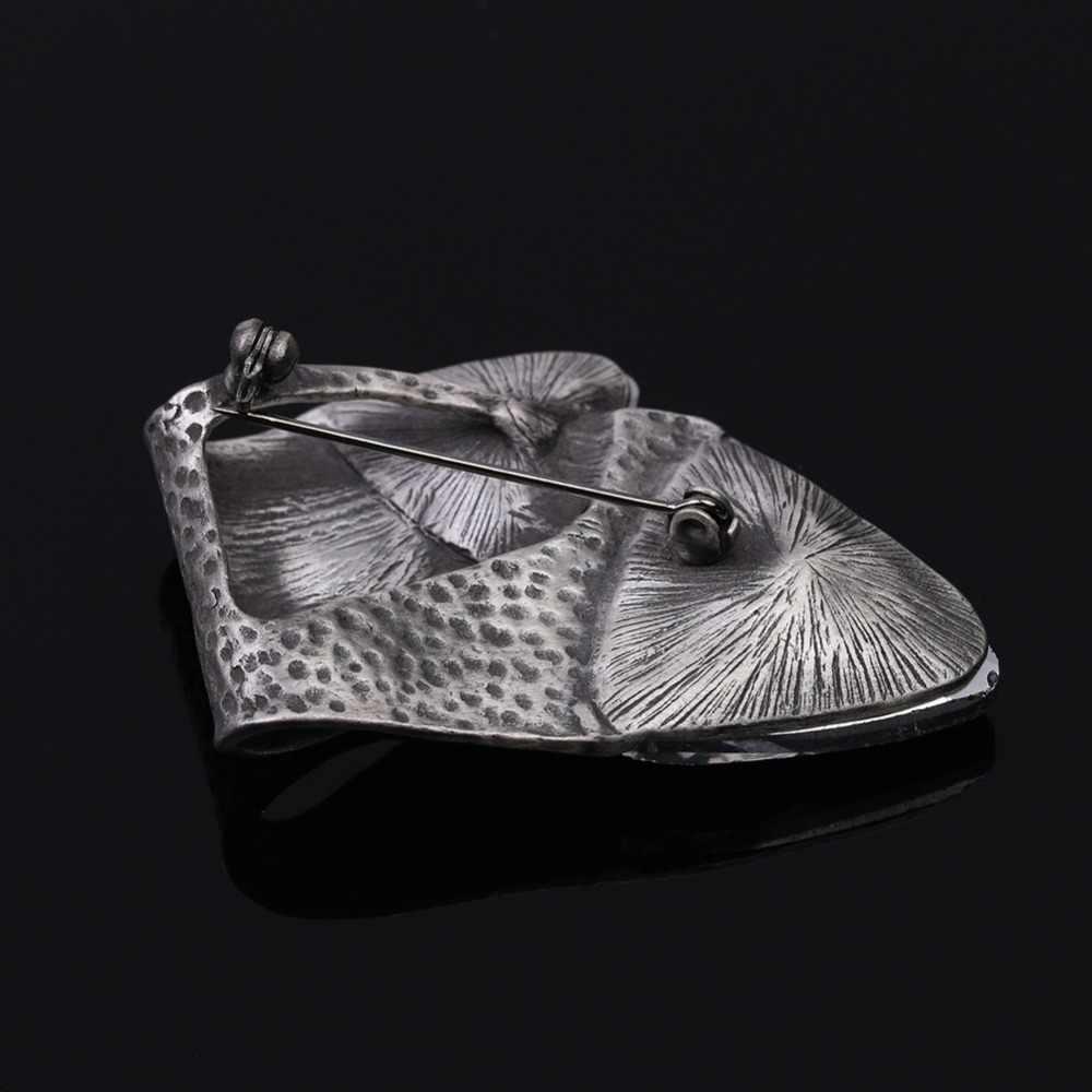 Jujie Vintage Squisito di Cristallo Spille per Gli Uomini 2020 Fashion Geometrica Delle Donne Spilla Spilli Metallo Risvolto Pianta Commercio All'ingrosso Dei Monili