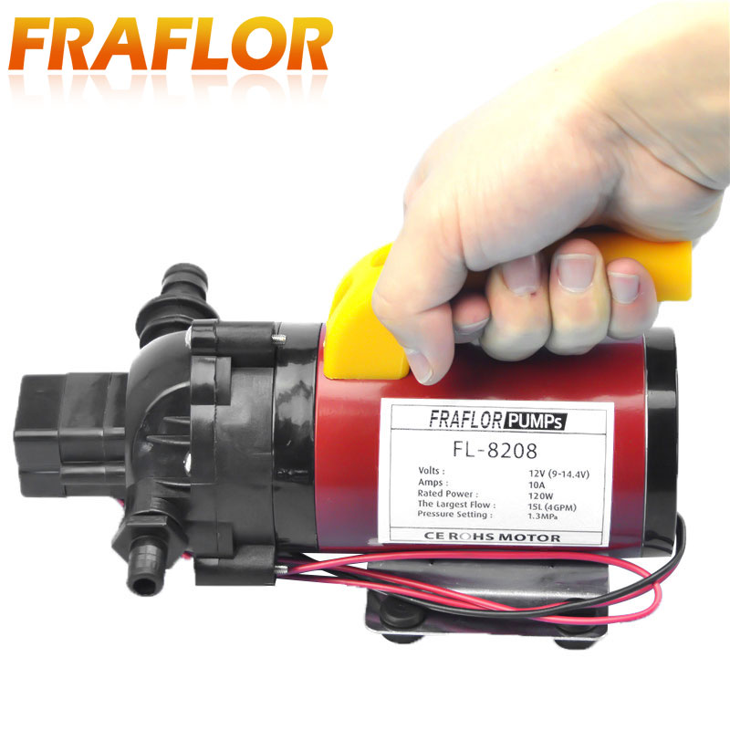 High Pressure Dc 12v 120w Diaphragm Pump Portable Car Washer Pump With Pressure Switch Self Priming Sprayer Pump Pump Flow Pump Therapypump Clamp Aliexpress