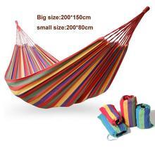 Hamaca doble hamaca al aire libre camping caza ocio productos super big size hamaca