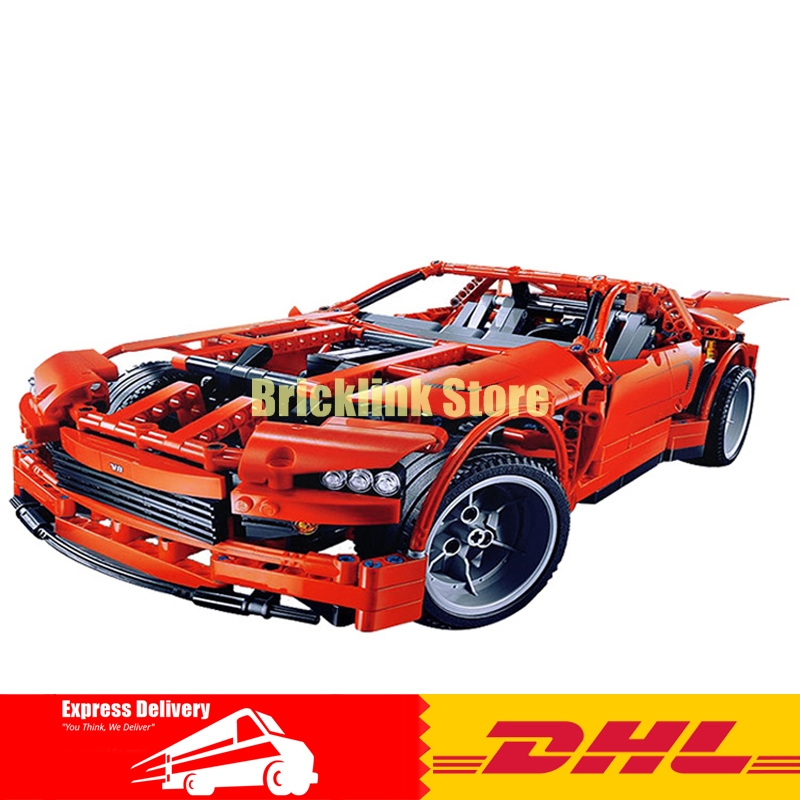 LEPIN 20028 Technic series Super Car assembly toy car model DIY brick building block toy gift for boy New Year gift 8070 in stock new lepin 21009 fxx 1 17 toy building blocks 632pcs technic racing sports car supercar model boy gift compatible 8156