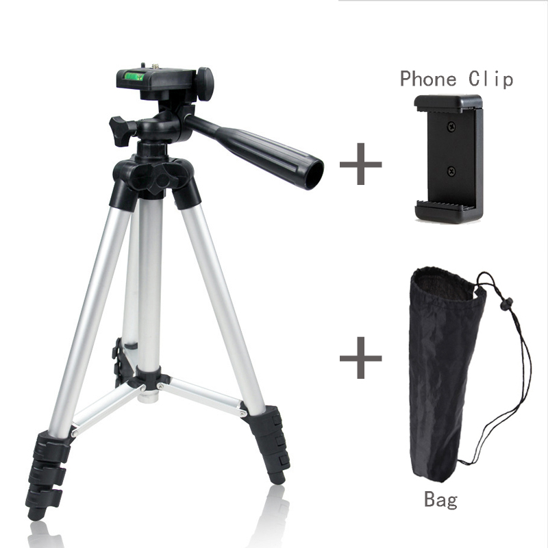 Yuguang Photography Portable Projector font b Digital b font Adjustable 130cm Phone Camera Support Tripod Mount