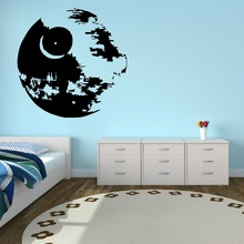 New arrival Vinyl wall art sticker decal boys bedroom STAR WARS DEATH room scifi