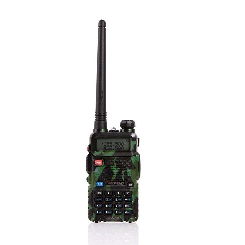 2 шт. baofeng уф-5r Walkie Talkie рации 128 Dual Band UHF& VHF 136-174 МГц и 400-520 МГц Baofeng УФ-5R портативна Рация 5 Вт Двухстороннее радио для рации рация баофенг uv-5r - Цвет: 2xUV5R Green