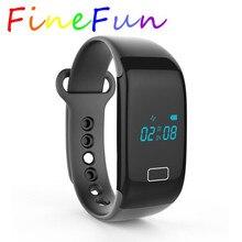 FineFunสมาร์ทสายรัดข้อมือJw18บลูทูธสมาร์ทนาฬิกากันน้ำPedometerติดตามS Mart W Atchวงสร้อยข้อมือสำหรับIos A Ndroidโทรศัพท์