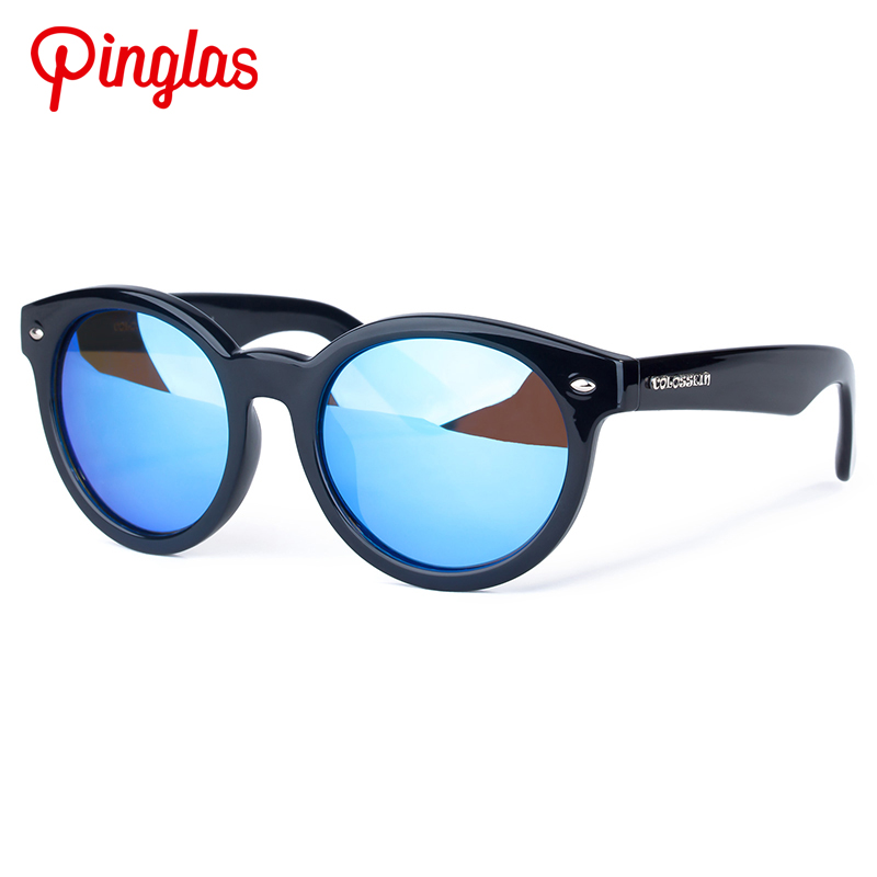 PINGLAS Oval font b Sunglasses b font Women Men Full Frame Glasses UV400 font b Polarized