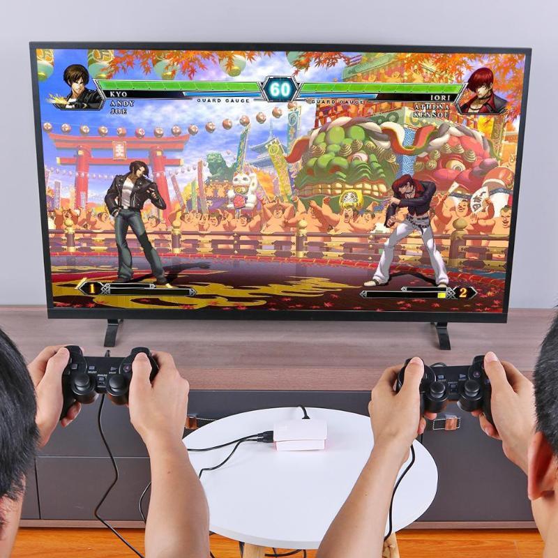 16000 en 1 128GB Quad Core TV lecteur de jeu vidéo boîte pour Rraspberry Pi avec 2 USB filaire manette de jeu Console de jeu
