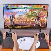 16000 in 1 128GB Quad Core TV Video Game Player Box Für Rraspberry Pi Mit 2 USB Wired Gamepad controller Spiel Konsole