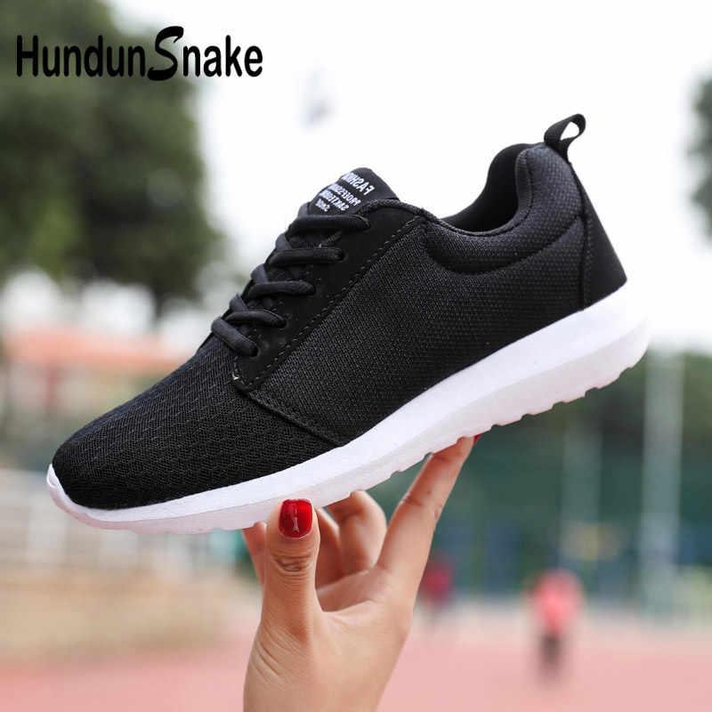 0473024ebdd2 Hundunsnake Large Size Men Shoes Sport Mesh Men Shoes Sneakers Breathable  Zapatillas Summer Krasovki Women Black