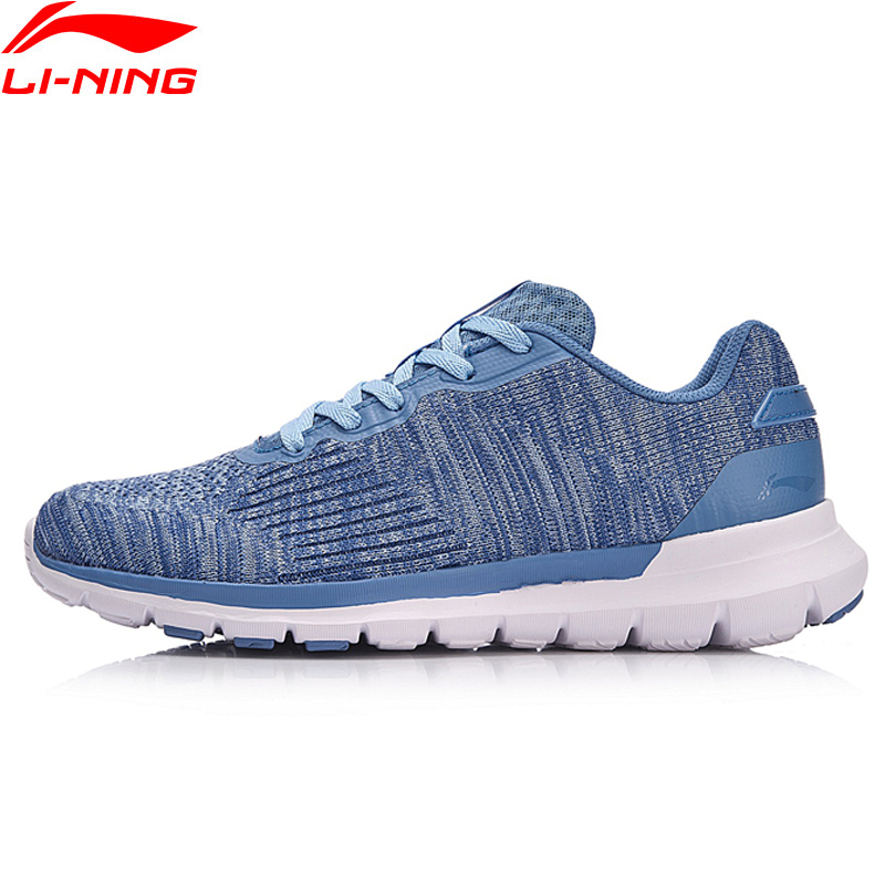 Li Ning Women SMART MOVE Running Shoes Light TPU Support Sneakers LiNing Comfort Fitness Sport Shoes