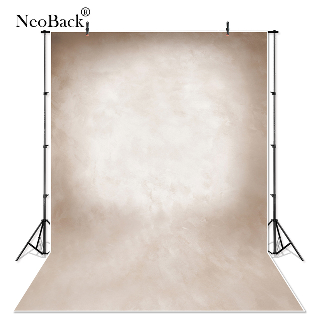 Vinyl Cloth Light Brown Abstract Old Master Photography backgrounds Printed Professional Portrait Studio Photo Backdrop P1348