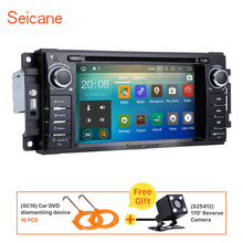 Seicane Android 7.1 Car DVD Player for 2008-2010 Jeep Commander Built-in 4G WIFI Bluetooth GPS Navigation support Backup camera