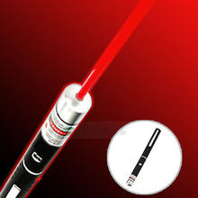 Wholesale Powerful 650nm 5mw Light Beam Red Laser Pointer Pen caneta laser