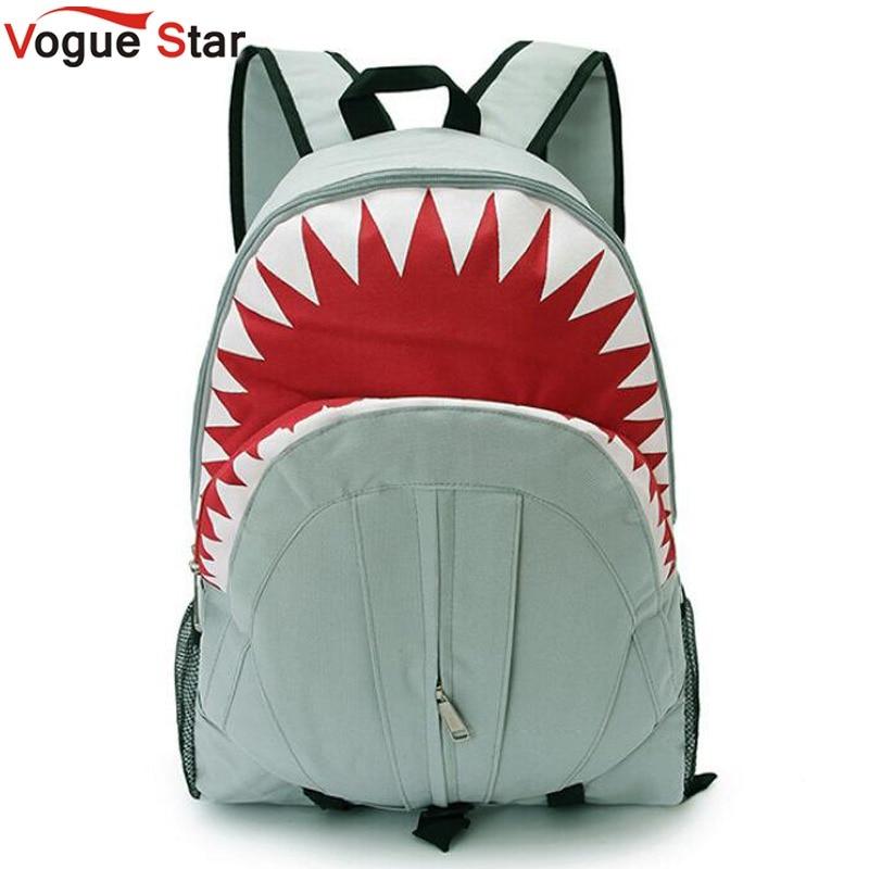 Vogue Star 2017 Free Shipping! Hot Sale Children Fashion Shark Backpack Cute Backpacks Boy's Travel Bags School Bag YA40-282