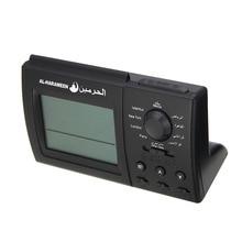 1PCS Black Automatic Digital Clock Islamic Azan Muslim Prayer Alarm Adhan Home Table Desktop Snooze Alarm Clock High Quality недорго, оригинальная цена