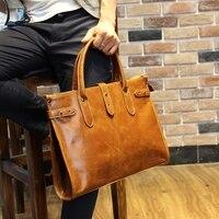 13 Inch Luxury Genuine Leather Men S Notebook Briefcases Business Bag Leather Messenger Bag Shoulder Bag