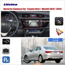 Liislee For Toyota Reiz / Mark X MarkX 2012~2015 Car Reverse Rear  View Camera Connect Original Factory Screen RCA Adapter