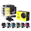 SJ4000 Style Mini Camera 720P HD Sport DV 30M Go Waterproof Pro Action Cameras Bike Helmet Mini CAM Retail Box Car DVR
