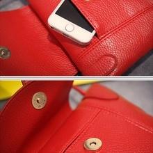 Mini PU Leather Handbag Messenger Bags for Crossdressers