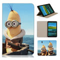 Despicable Me Lovely Banana Minions Smart Cover Case For Samsung Galaxy Tab S 8.4 T700 T705C