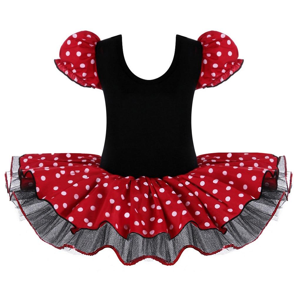 Baby Mädchen Minnie Maus Mickey Cosplay Ballett Trikot Kleider ...