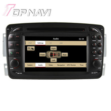 Wince Car Radio Stereo For Benz CLK-C209 W209(1998-2004.5)/CLK-C208 W208(1996-2008) for M/ML-W163(1998-2002.1)/G-W463(1998-2004)