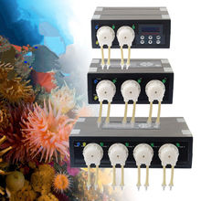 Hot Sale JEBAO DP-2 DP-3 DP-4 DP-5 DP-3S DP-4S Auto Dosing Pump Automatic Doser for Marine Reef Aquarium Fish Tank High Quality