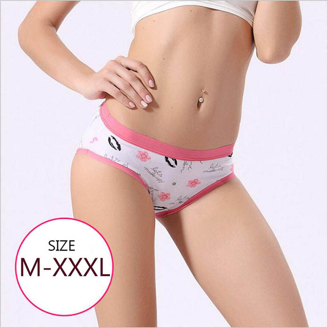 Blloobeell Cotton Womens Panties Underwear Sexy Girls Every Day Briefs Low Rise Panties Women Candy Color