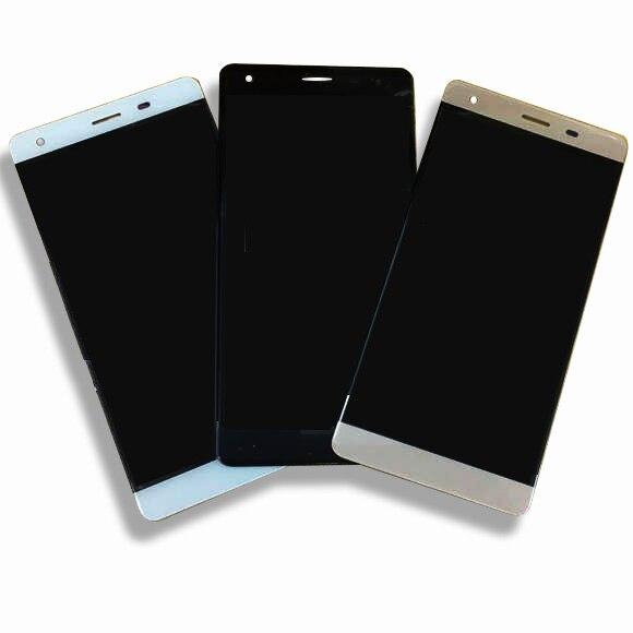 5 pouces LCD Affichage Et écran Tactile Assemblée complet Pour VERTEX Impressionner X digitizer panneau lentille en verre D'affichage