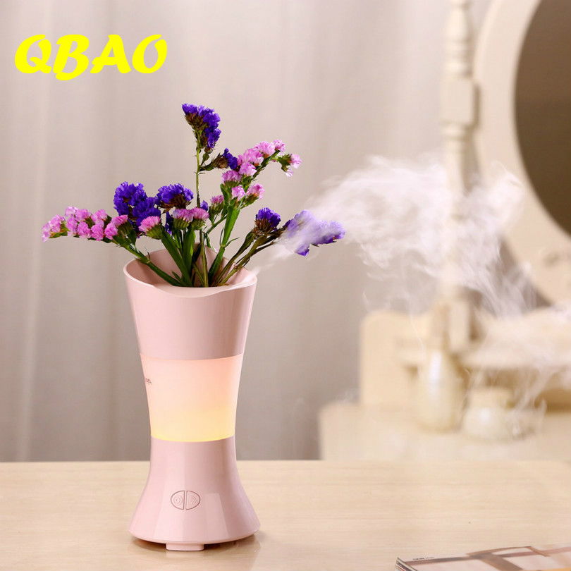 Creative Ultrasonic Humidifier Air 110-240V 100ml Tank Essential Oil Diffuse for Home SPA