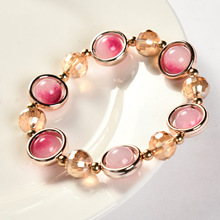The new han edition dragon  stones bracelet female fashion crystal stone best-selling products