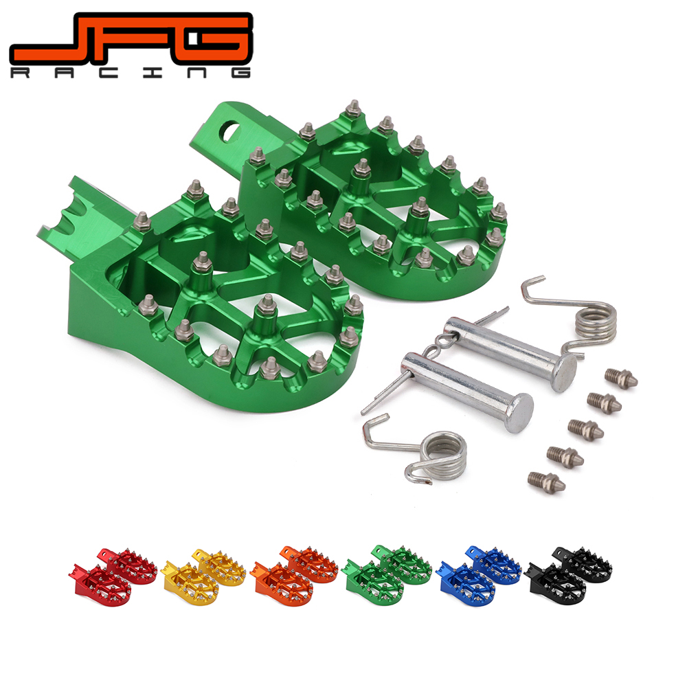 Image 4 - Motorcycle Universal CNC Colorful Footpeg Footrest Foot Pegs For HONDA CRF XR 50 70 110 M2R SDG DHZ SSR KAYO Pit Bike-in Foot Rests from Automobiles & Motorcycles