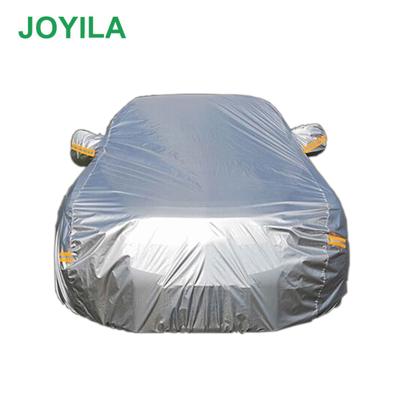 190T Polyester Waterproof Car Cover Rainproof Dustproof Sunscreen Snowproof productive High Quality Cover Car SUV Sedan