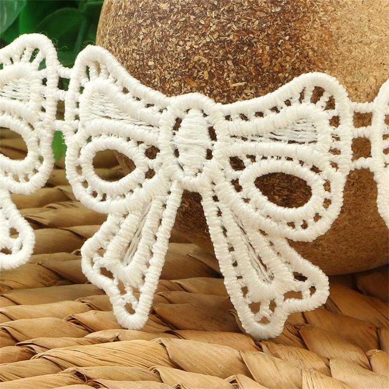 H631 широкий 5 см УЗЕЛ-фотография Вязание Свадебное кружево вышитые Diy Ручная работа лоскутное искусство