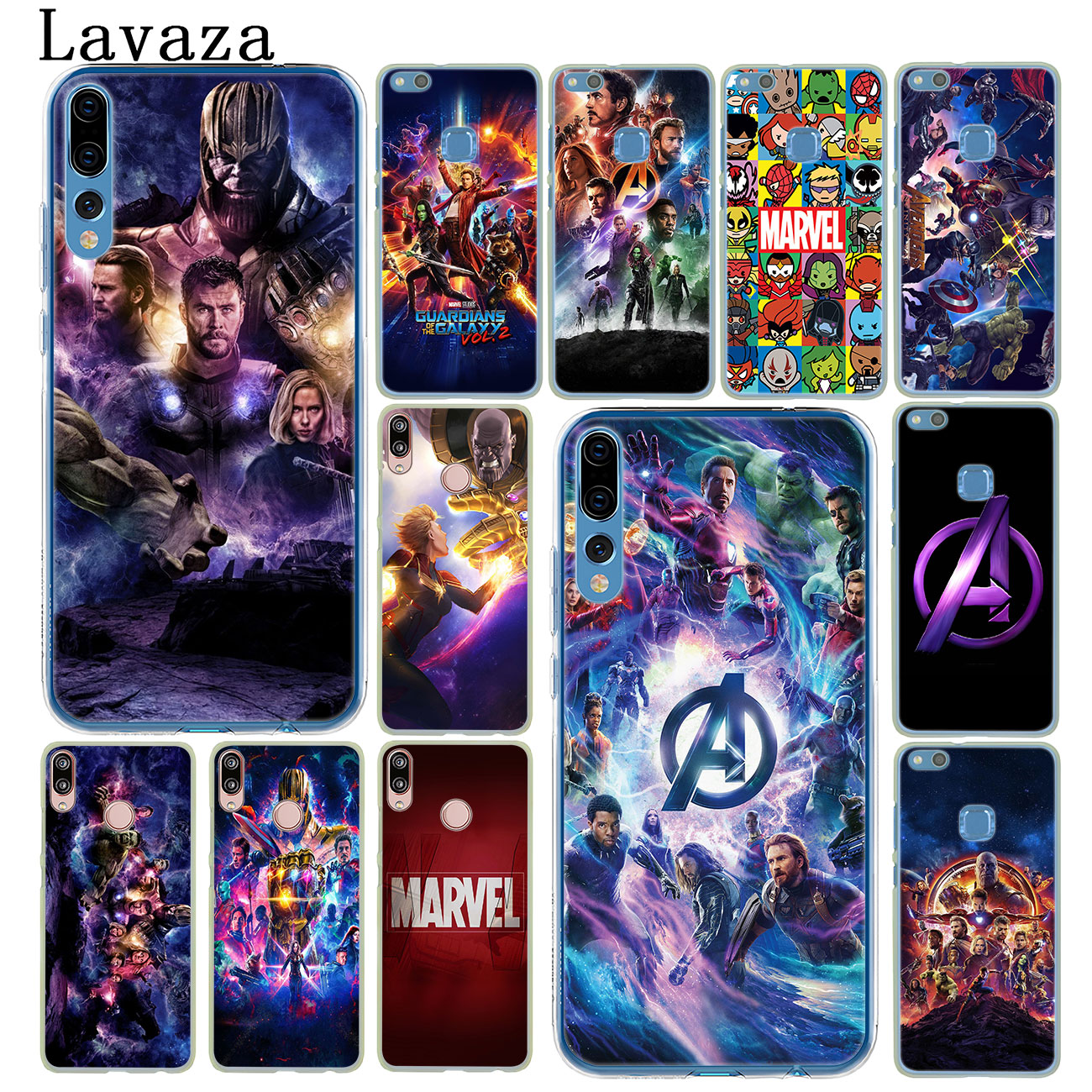 Avengers Endgame <font><b>Marvel</b></font> Captain America Case for <font><b>Huawei</b></font> P30 P20 Pro P9 <font><b>P10</b></font> Plus P8 <font><b>Lite</b></font> Mini 2016 2017 P smart Z 2019 <font><b>Cover</b></font> image