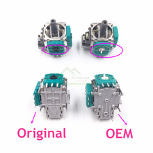 Oem 3d joysticks analógico 3pin sensor, potenciômetro de módulo de sensor para substituição para controlador de xbox one, com 10 peças
